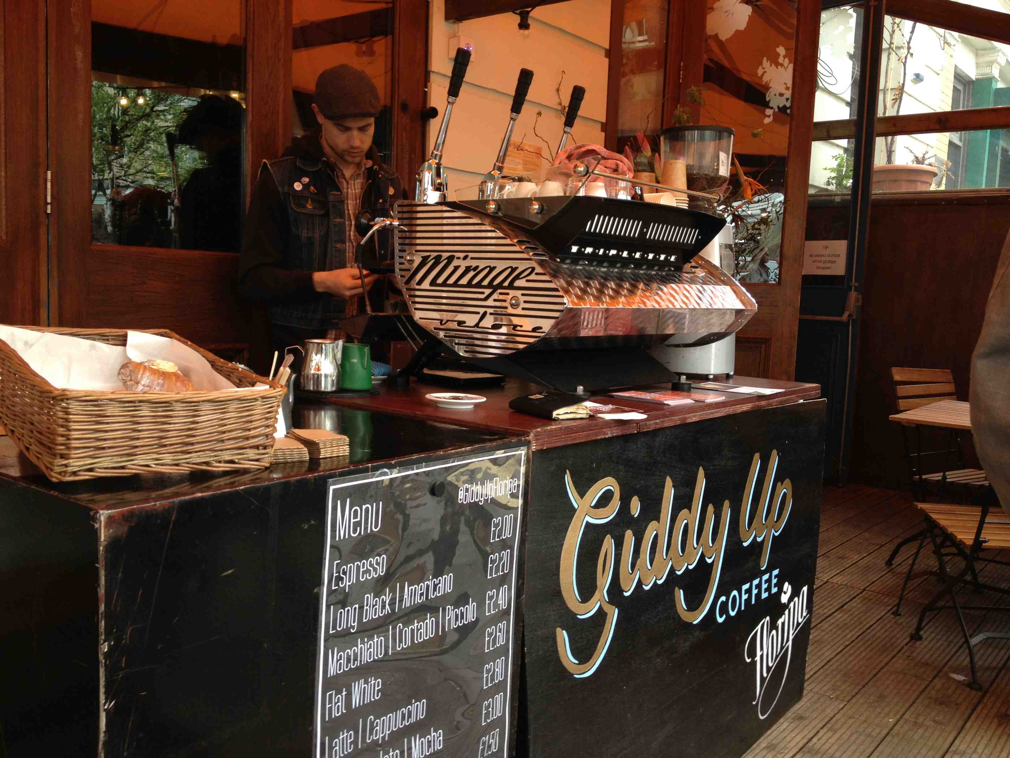 griddy up menu coffee carta cafe