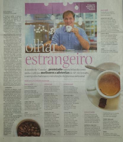 Barista Kim Brasil Folha Sao Paulo