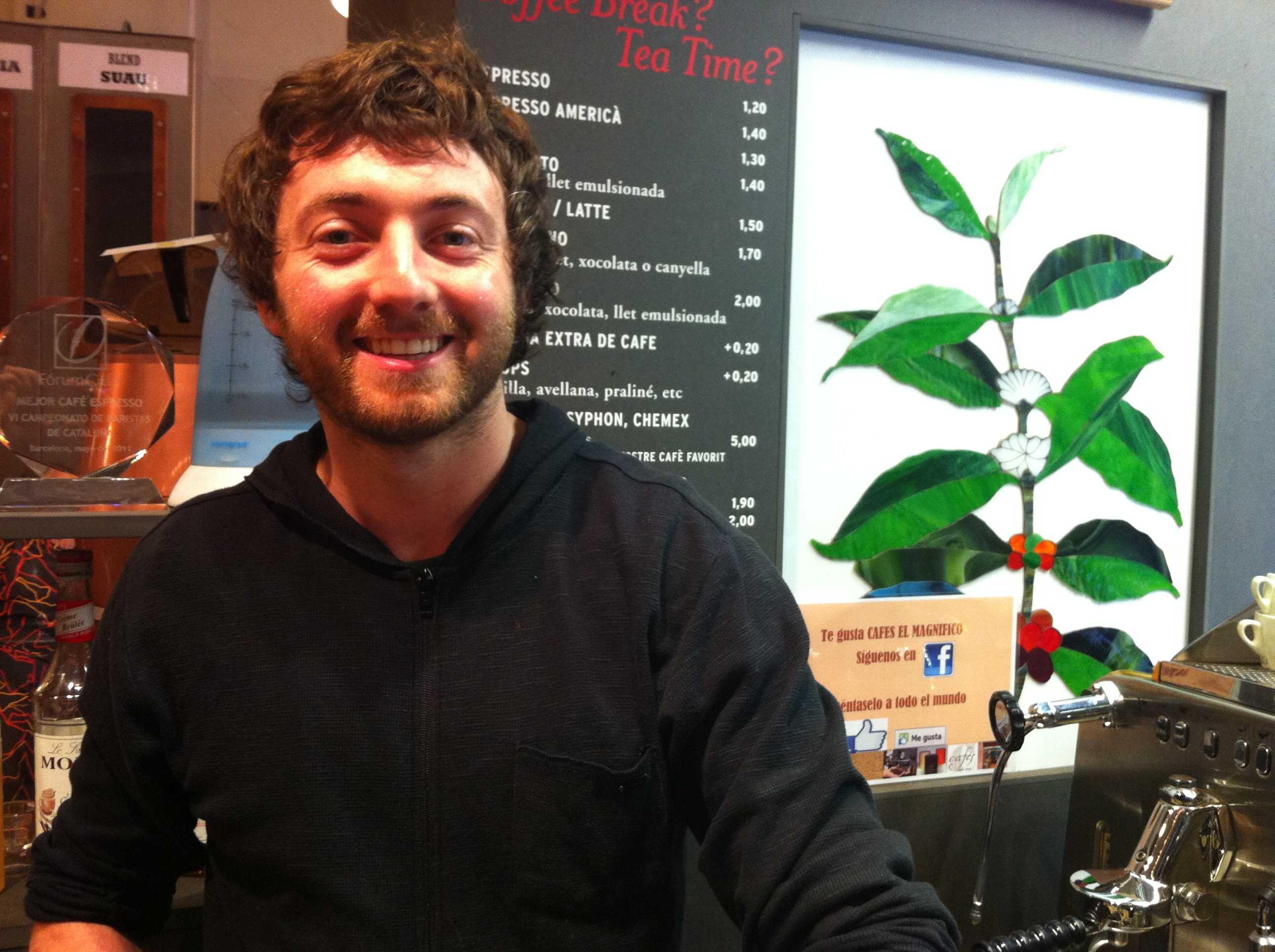 Barista Kim - Un Flat white de Australia en cafés el magnifico