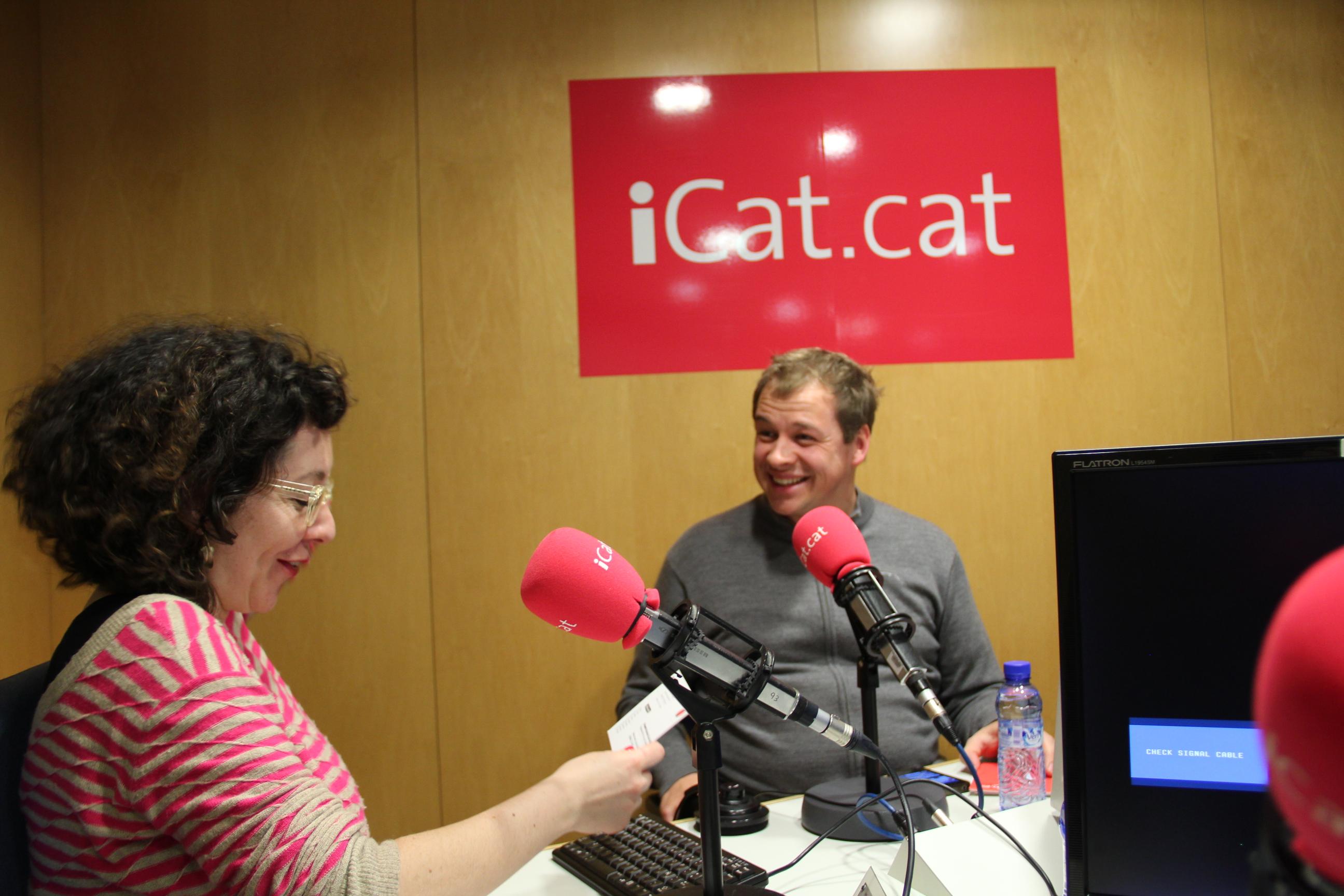 Entrevista con Barista Kim y Montse Virgilioen Radio icat.cat
