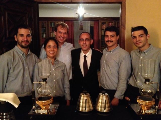 Cap Roig Marcilla Day - Syphon Coffee Show con Barista Kim Ossenblok