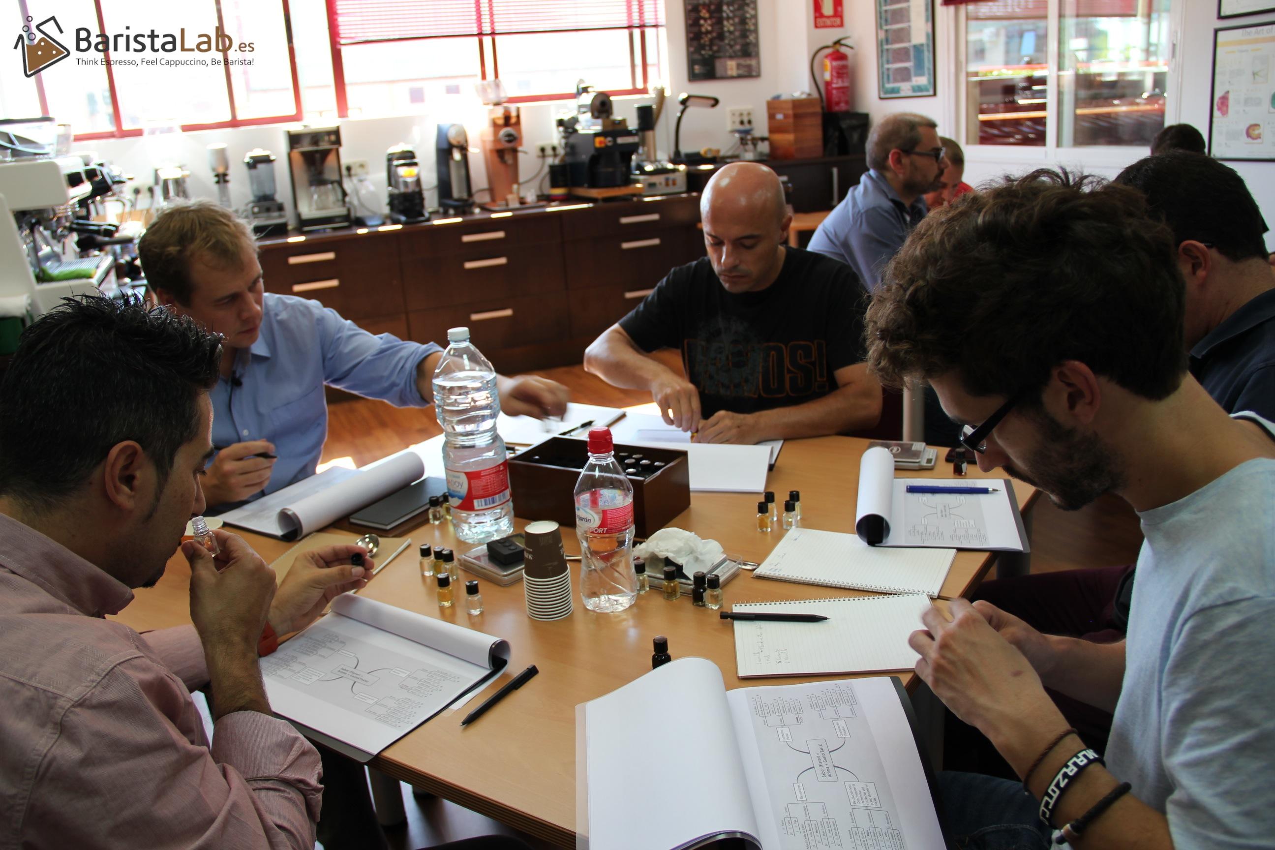 Master Class Barista Lab Madrid - los aromas del café