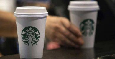 precios Starbucks y Costa Coffee