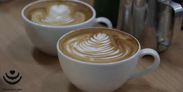 Formula latte Barista Kim Latte Art