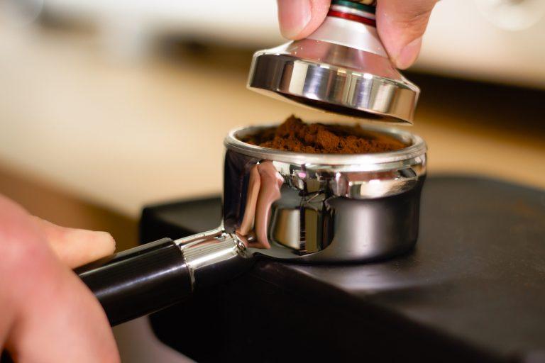 prensado del café